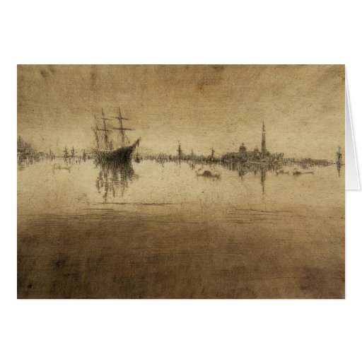 Nocturne by James Abbott McNeill Whistler Greeting Cards