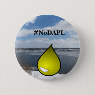 #NoDAPL oil leak ruins ND water and land button