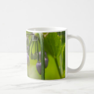Nodding Wild Onion Purple Wildflower Mug Cup