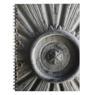 Node of door spiral note books