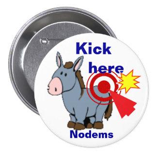 Nodems 2016 pinback buttons