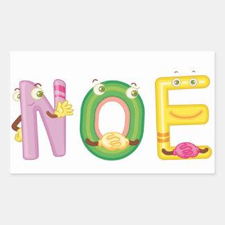 Noe Sticker