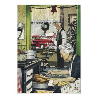 Noël à la maison vintage démodé de cuisine