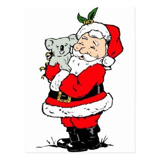 Père Noel Mignon Noël Australien Mignon Père
