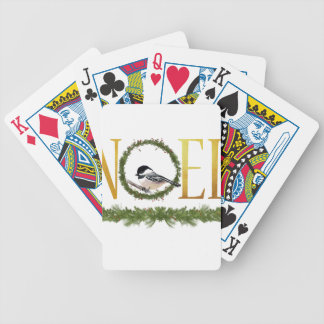 Noel Bicycle Playing Cards
