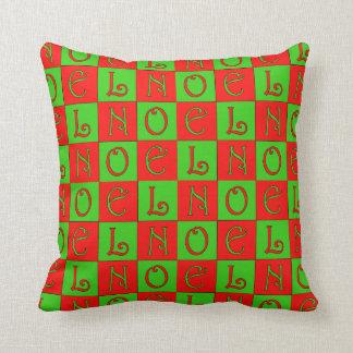 Noel  Block Pillow