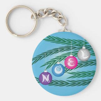 Noel Bulbs Keychain
