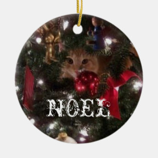 Noel Ceramic Ornament