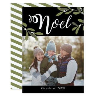 Noel - Christmas Photo Card
