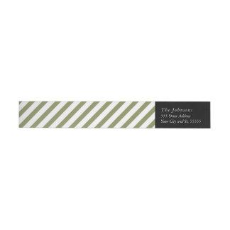 Noel - Christmas return address label