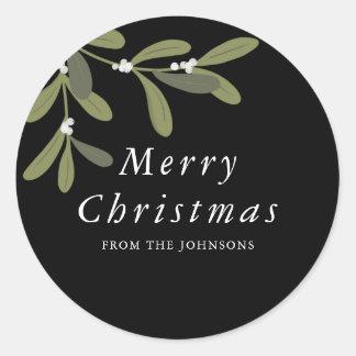 Noel -Christmas round sticker