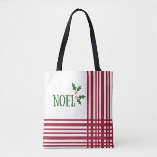 NOEL Christmas Tote Bag