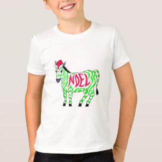 Noel Christmas Zebra T-Shirt
