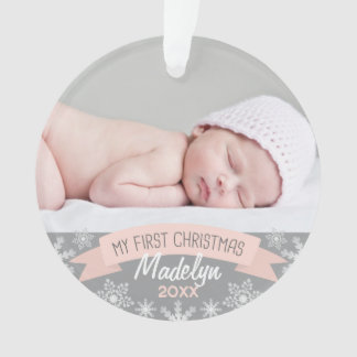 Noël de bébé de l'ornement | de photo premier
