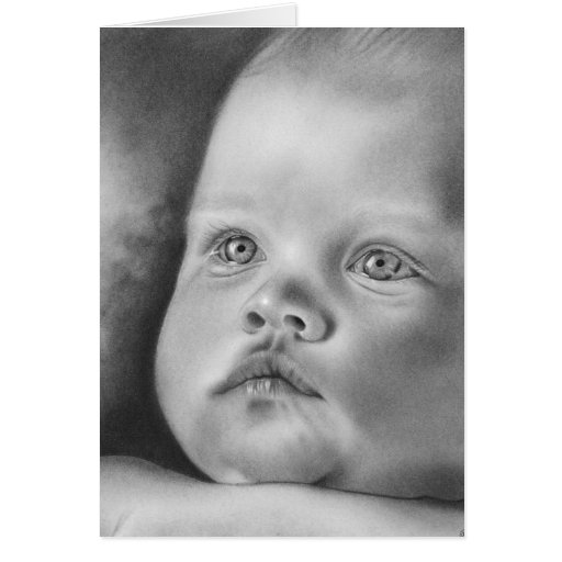 Noël de Jésus de bébé Carte De Vœux