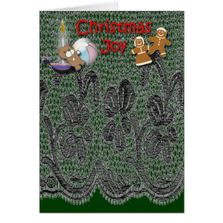 Noël démodé cartes