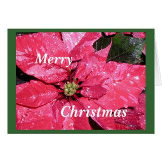 Noël démodé carte de correspondance