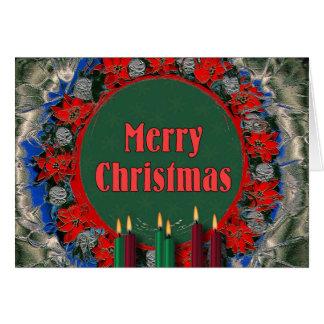 Noël démodé - Joyeux Noël Carte De Vœux