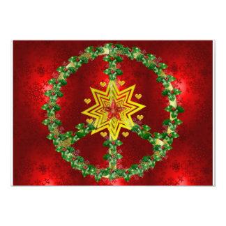 Noël d'étoile de paix