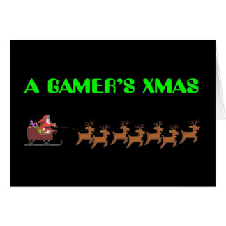 Noël d'un Gamer Carte De Vœux