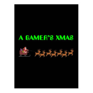 Noël d'un Gamer Cartes Postales