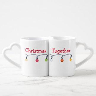 Noël ensemble set mugs duo