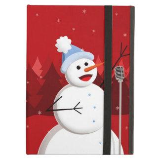 Noël heureux Kickstand de bonhomme de neige de cha