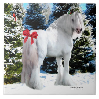 """Noel"" Holiday Tile"
