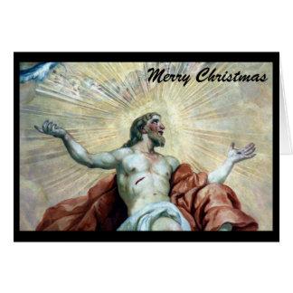 Noël Jésus Carte De Vœux