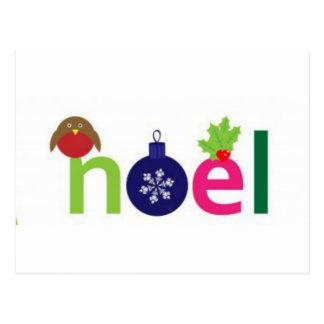 Noel joyeux cartes postales