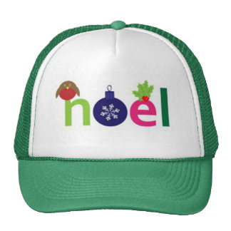 Noel joyeux casquettes de camionneur