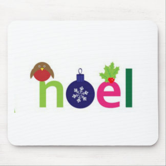 Noel joyeux tapis de souris