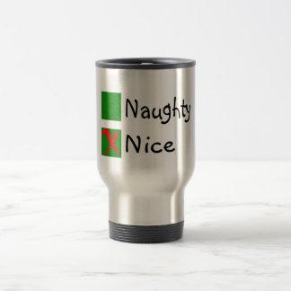 Noël non vilain gentil tasses