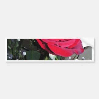 Noël nuptiale de partie de vacances Romance de ros Autocollant De Voiture