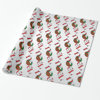 Noel Obama Style Christmas Wrap Wrapping Paper