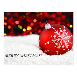 Noël ornemente 3, JOYEUX CHRSTMAS ! Cartes Postales