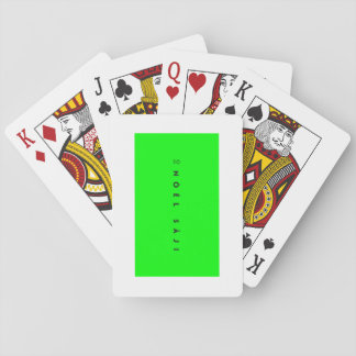 Nöél Sâji MERCH - Poker cards. Playing Cards