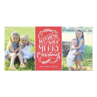 Noël souhaite la collection photocartes personnalisées