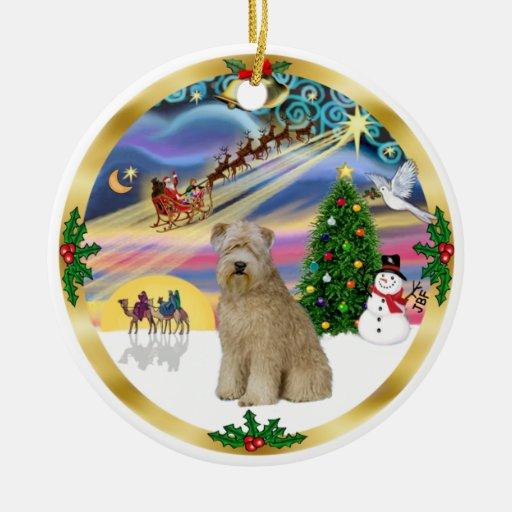 Noël Terrier Magie-Blond comme les blés 8 Décoration De Noël