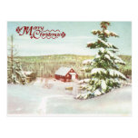 Noël vintage en Norvège, 1950 Cartes Postales