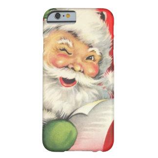 Noël vintage le père noël coque iPhone 6 barely there