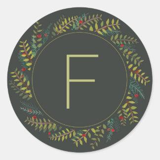 Noel Wreath Sticker