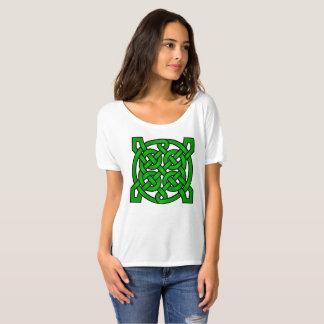Noeuds celtiques verts t-shirt