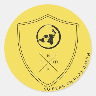 #NOFEARONFLATEARTH TAG1 Sticker