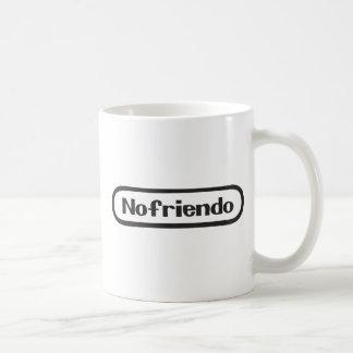 nofriendo classic white coffee mug
