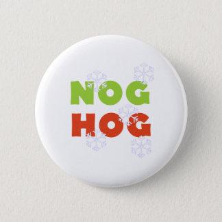 Nog Hog 2 Inch Round Button