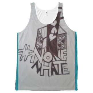 NoHATezone All-Over-Print Tank Top