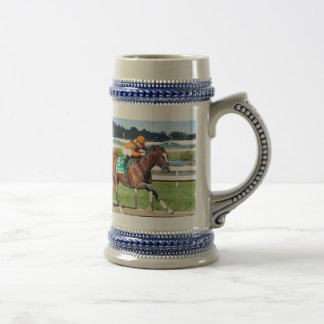 Noholdingback Bear - Gallant Bob Stakes Beer Stein