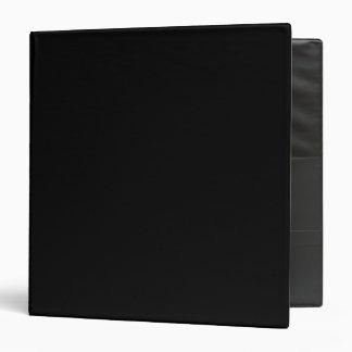 Noir Classeur Vinyle