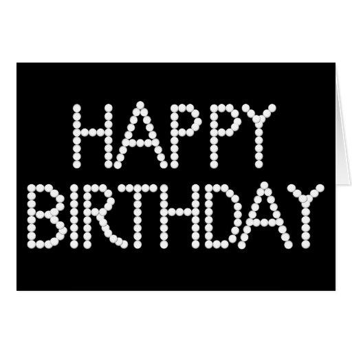 Carte joyeux anniversaire noir et blanc zeeep web - Joyeux noel noir et blanc ...